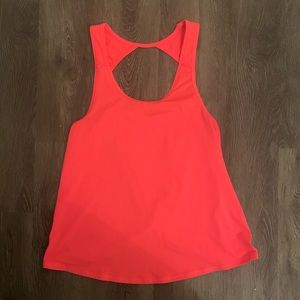 Pink AMERICAN EAGLE active tank